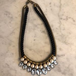 LOFT Necklace Black and Gold